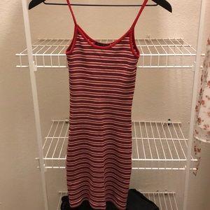Red stripes brandy Melville dress
